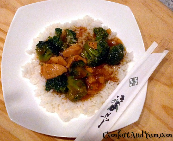 Chinese Take Out Style Chicken With Broccoli Comfort Yum