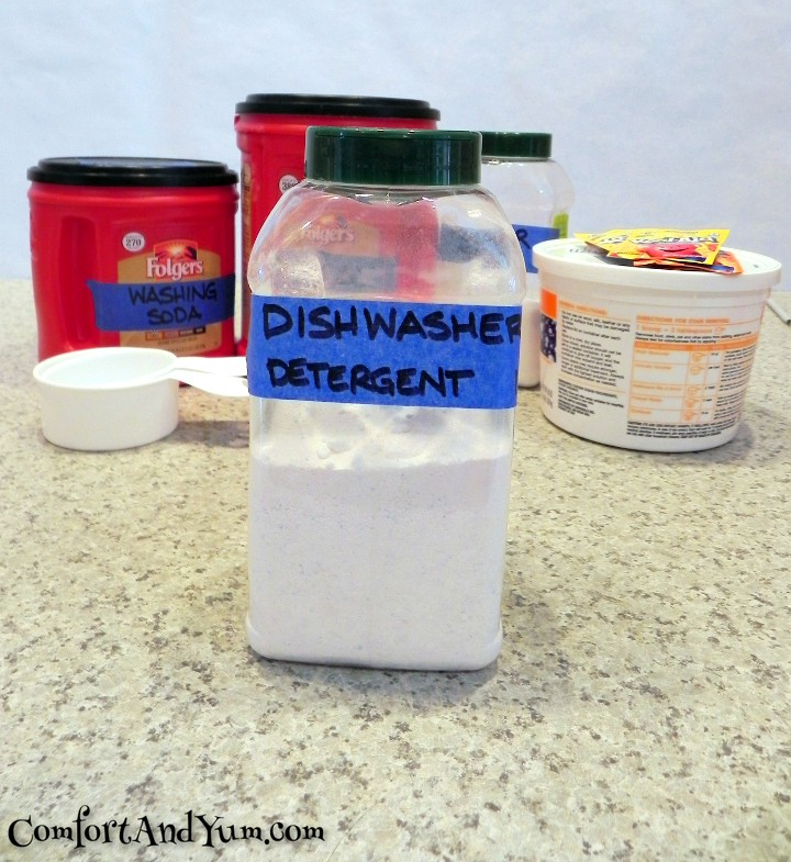 Dishwasher Detergent for Extremely Hard Water | Comfort & Yum